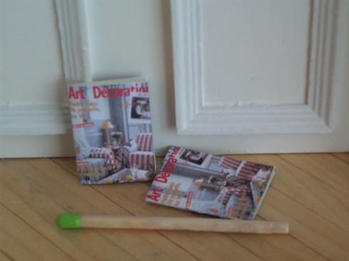 magazine art et d coration avec feuillets. Black Bedroom Furniture Sets. Home Design Ideas